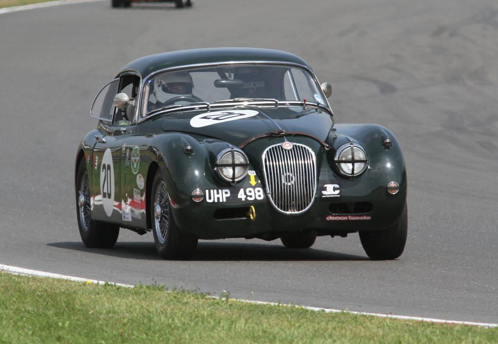 Race Entry Form Donington Jaguar Classic Challenge JaguarXK150