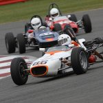 Record FF1600 grid at Silverstone Classic
