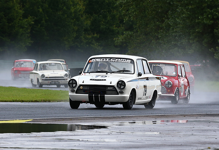 Great racing from HSCC at Croft Nostalgia Weekend