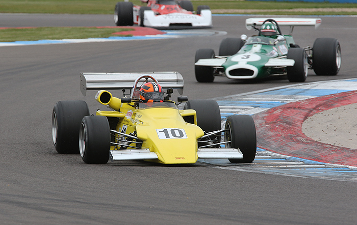 Bumper entry for HSCC Historic F2 at Monza