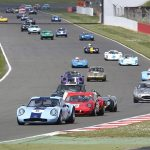 Capacity entry for Guards Trophy race at Silverstone Classic