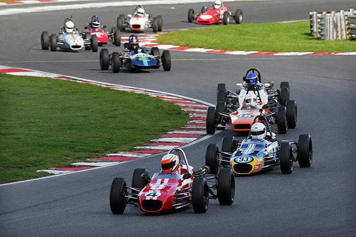 Historic Formula Ford racers star at Brands Hatch