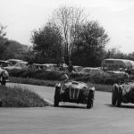 50th anniversary grid at Castle Combe