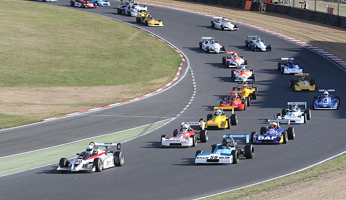 Stellar race line-up at HSCC Brands Hatch
