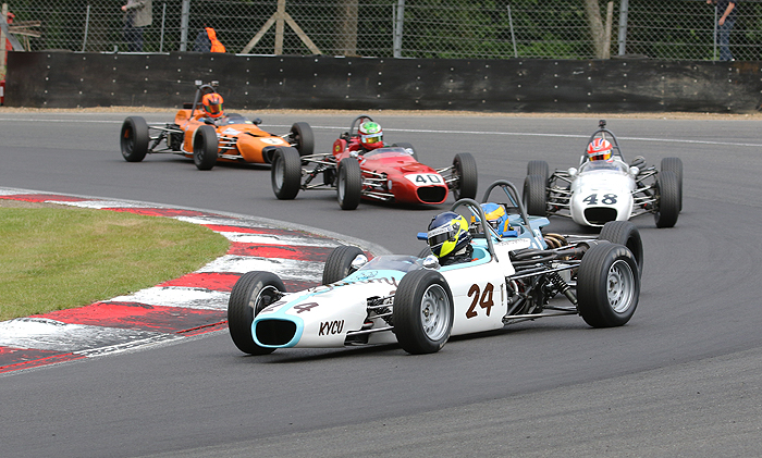 Formula Fords star in HSCC Brands Hatch GP weekend