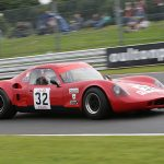 Chevron B8 race for 2018 Oulton Park Gold Cup