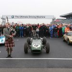 Jim Clark celebrated by HSCC at Donington Park