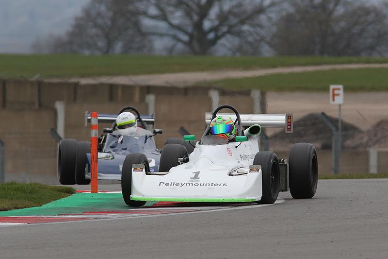 Fantastic start to HSCC season at Donington Park