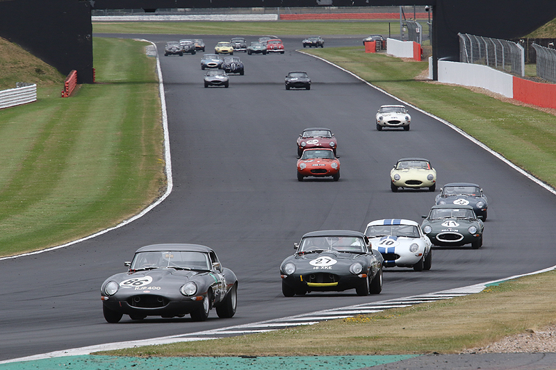 Oulton Park and Spa for Jaguar Classic Challenge