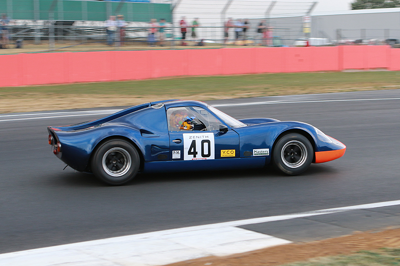 Former racers join Chevron B8 50th anniversary