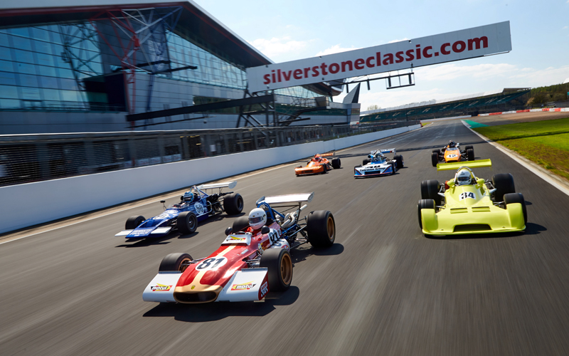 Record breaking Historic F2 entry for Silverstone Classic