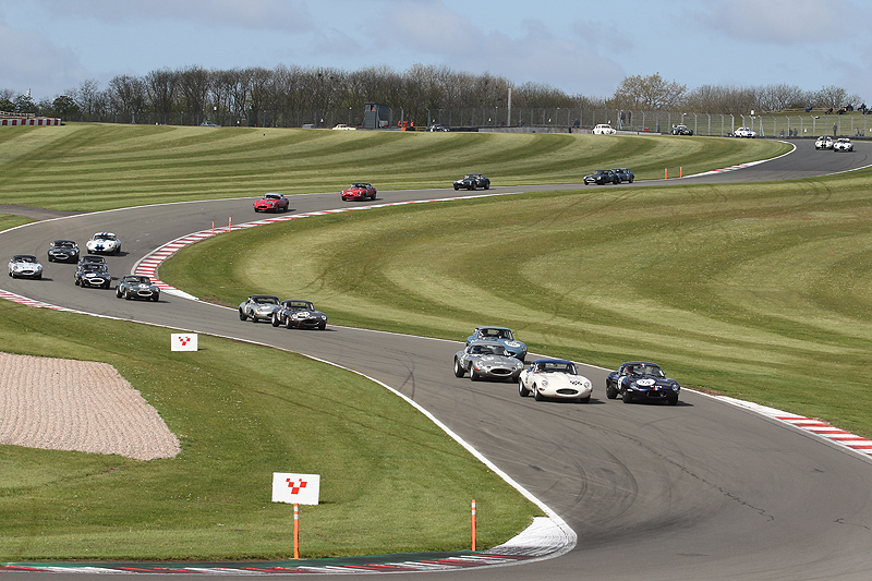 HSCC races feature in Donington Historic Festival