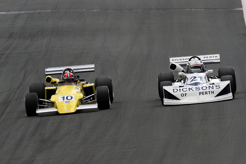Watts and Smith share Historic Formula 2 wins at Zandvoort