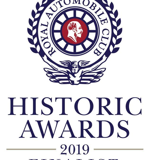 HISTORIC F2 IS AWARD FINALIST