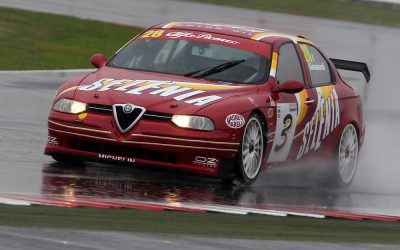 Famous Alfa Romeos to race in Dunlop Saloon Car Cup